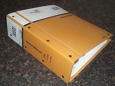 Case 1838 Uni Loader Skid Steer Service Shop Workshop Repair Book Manual Oem