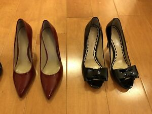 Shoes - heels - Nine West & Enzo Angiolini - new