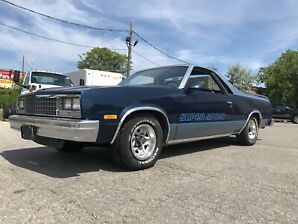 1987 El Camino LOW Mileage