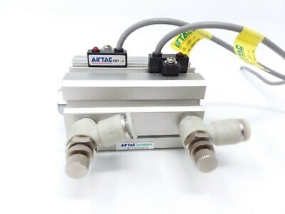 Airtac Cylinder Acq32x40-s Pneumatic Air Used Wsensors