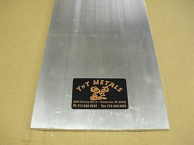 12 Aluminum 12 X 24 Flat Bar Sheet Plate 6061 Mill Finish