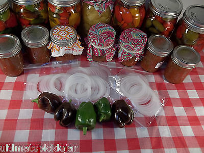 8 pk Ball plastic mason jar storage lids with silicone gasket and heavy grommet](Plastic Mason Jar Lids)