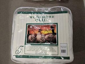 Good condition - King Single Woolmore Australian pure wool quilt