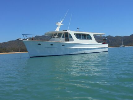 MOTOR BOAT - 40ft DISPLACEMENT HULL -  $170,000.00. ONO North Ward Townsville City Preview