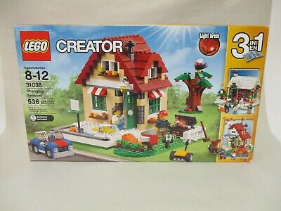2015 LEGO STAR WARS CREATOR RETIRED SET CHANGING SEASONS #31038 536 PCS NEW MISB
