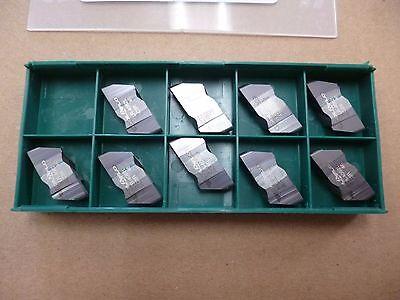 Tool-flo Flr-4062l Grade Ac3r Full Nose Grooving Carbide Insert 9pcs