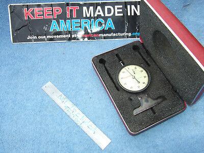 Starrett 644jz Dial Depth Gage 0-.5 Range .001 Wcase Toolmaker Usa Vintage