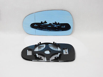 For AUDI TT 1998-2006 Wing Mirror Glass Blue Wide Angle HEATED Left Side /A015 for sale  Shipping to Ireland