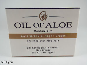 Oil Of Aloe Anti Wrinkle Night Cream Enriched with Aloe Vera - 50ml