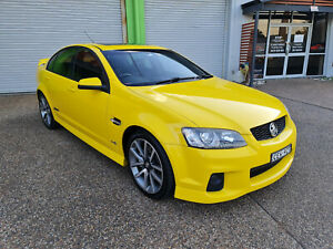 2011 Holden Commodore SS-V VEII 6.0L V8 Sedan 6 SPEED MANUAL - HAZARD YELLOW