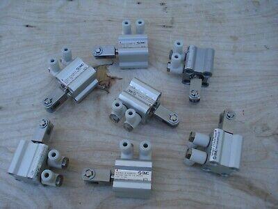 7pcs Smc Compact Airpneumatic Cylinder Ncq2b12-10-dan00970 Dual Acting New Lot