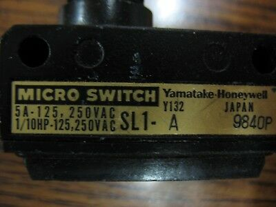 Yamatake-honeywell Micro Switch
