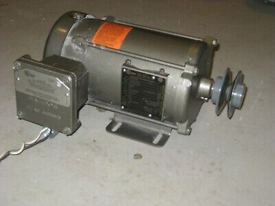 Baldor Reliance Electric Motor 14 Hp 115230v 1725rpm 1ph L5000a C32540595
