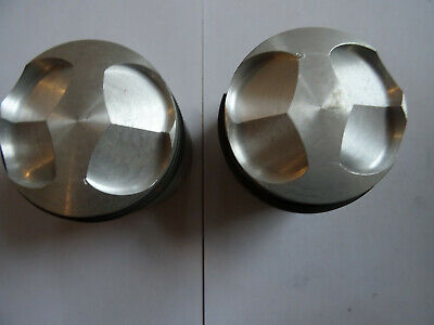 6868- PISTONS PAIR NEW - FIT 600CC +20 NORTON TWIN ONLY - FIT EITHER WAY AROUND