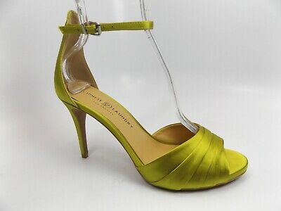 CHINESE LAUNDRY WOMENS Z-BUTTERFLY SATIN CITRUS HEELS SHOES SZ 10.0 M, NEW 11292 Chinese Laundry Satin Heels