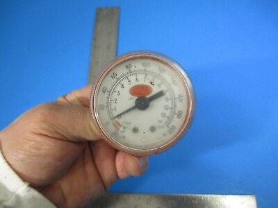 Vintage Gresen Hydraulic Pressure Gauge Meter 200 Psi Steampunk V25 B1