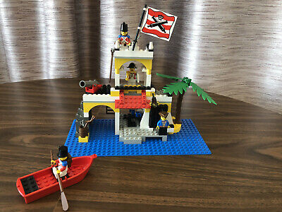 """Vintage Pirates Lego Set 6263 """"Imperial Outpost"""" Complete w. Box & Instructions"""