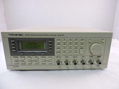 Wavetek 395 Synthesized Arbitrary Waveform Generator 90 Day Warranty