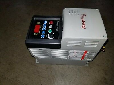 Allen Bradley Powerflex40 Cat 22b-d010n104 5hp Powerflex 40