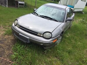 1998 Neon with parts car Price Flexible