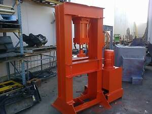 hydraulic workshop or stone splitting press and power pack Capalaba Brisbane South East Preview