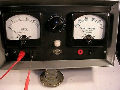 Hickok Vintage S-48 Dc Power Supply