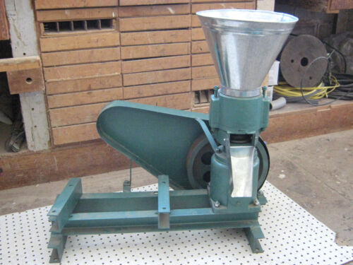 "Model 230 Non-Powered 9"" Pulley Drive Feed/Fertilizer Pellet Mill. USA In-stock!"