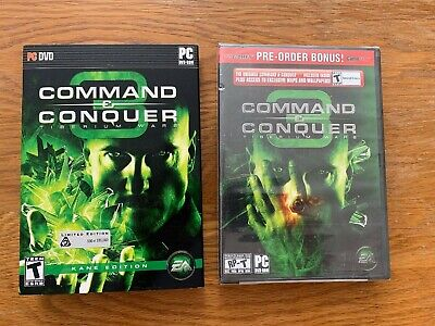 Command & and Conquer 3 Tiberium Wars Kane Edition Limited Windows