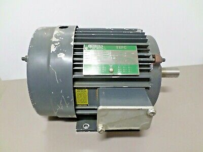 Lincoln Ac 3hp Electric Motor 1750 Rpm 182t Frame 230460v 3 Phase