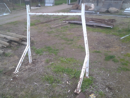 STEEL FRAME BUILDERS RACK St Agnes Tea Tree Gully Area Preview
