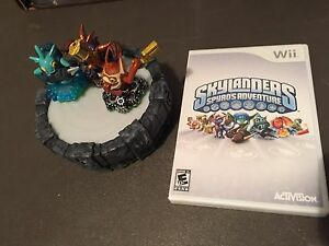 Skylanders Wii Game and Portal of Power