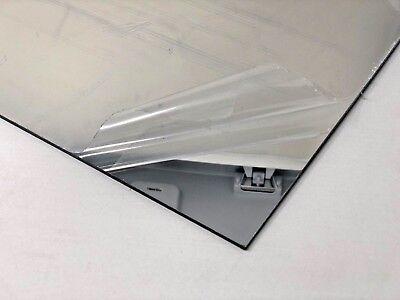 Acrylic Mirror Clear Plexiglass .125 - 18 X 12 X 12 Plastic Sheet