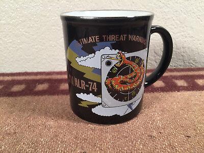 Coil Mug - military coffee cup mug coiled snake ultimate threat warning defense AN/ALR-74
