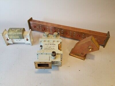 Att Long Lines Microwave Waveguide Td-2 1415b Network Copper Western Electric