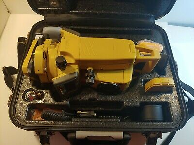 Topcon Gts-235w Surveying Total Station With Charger Battery Data Cable Ect.