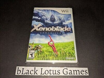 NEW Sealed Xenoblade Chronicles Wii Nintendo NTSC - U/C North American