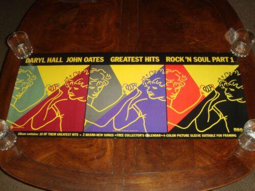 Rare DARYL HALL & JOHN OATES Rock