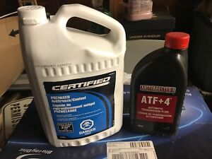 Antifreeze and Transmission Fluid