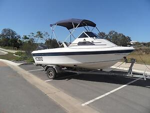 STREAKER 5.02m CUDDY CABIN BOAT POWERED BY 90hp YAMAHA OUTBOARD Murrumba Downs Pine Rivers Area Preview