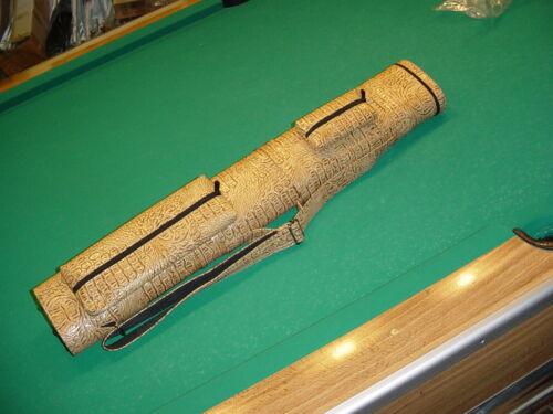 NEW IMITATION ALLIGATOR 3X6 CUE CASE pool billiards CARLSCUES B11-4169
