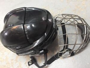 Casque et grille hockey BAUER Small