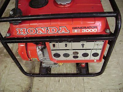 Honda Eb 3000 Generator -with The Original Manual
