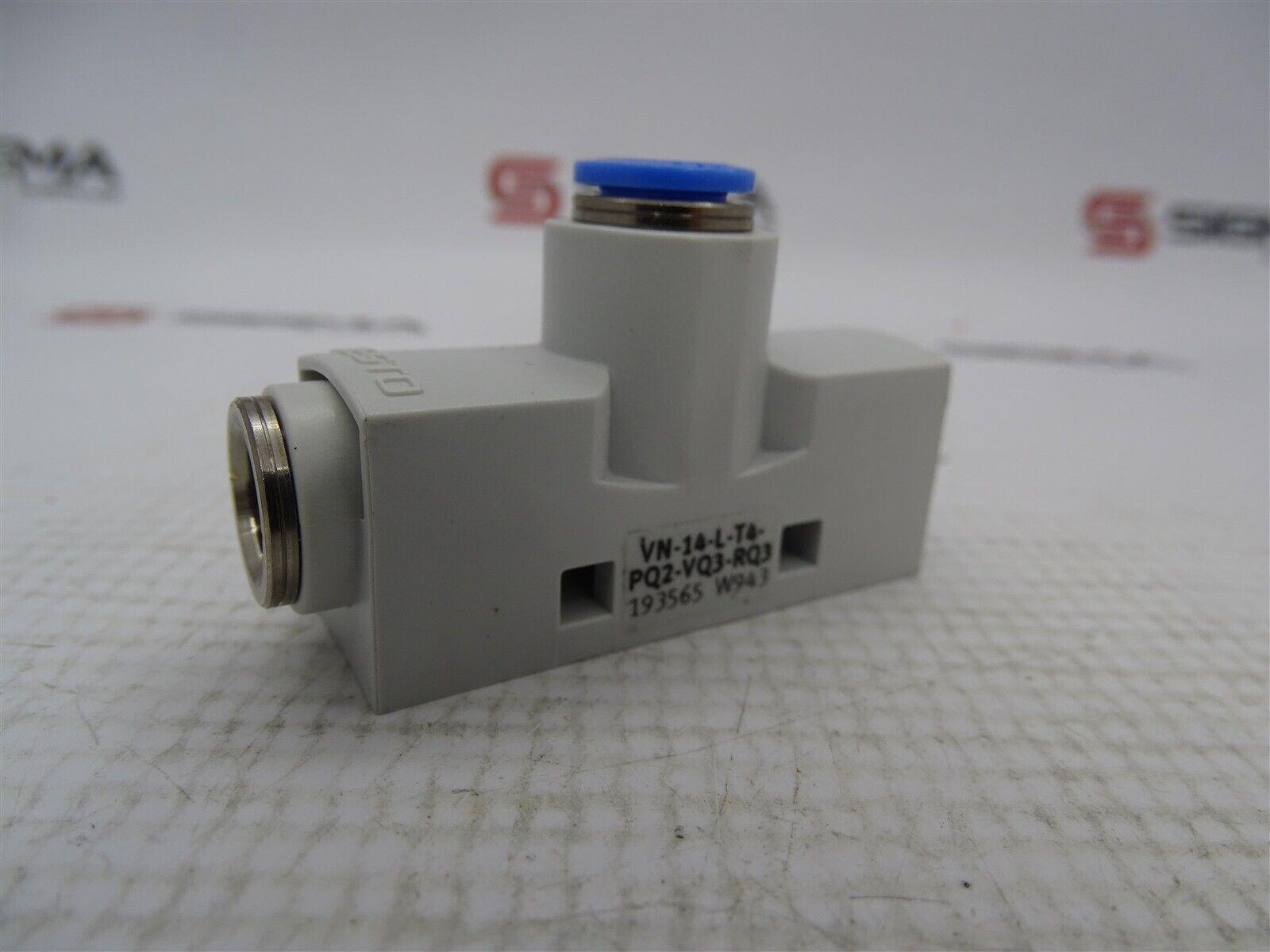 Festo VN-14-L-T4-PQ2-VQ3-RQ3 Vacuum Generator