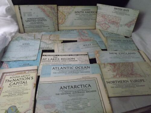 90+ Social Studies National Geographic Maps Most 1940