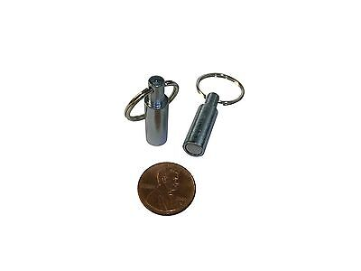 14 Neodymium Hook Magnets Key Chain Pocket Key Ring Jewelry Test Holder Neo