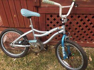 Vélo, bicyclette, 18 pouces. fille, enfant