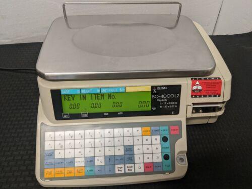 Ishida BC-4000L2 Bench Deli Pricing Scale