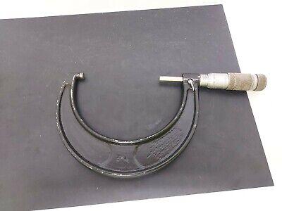 Vintage Brown Sharpe 4 Micrometer