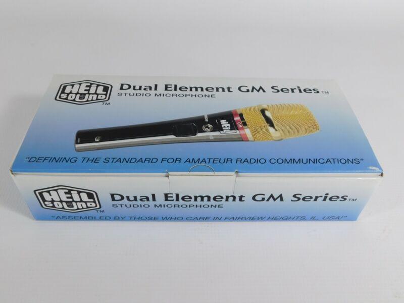 Heil Sound GM-V Dual Element Ham Radio Studio Microphone (new in box)