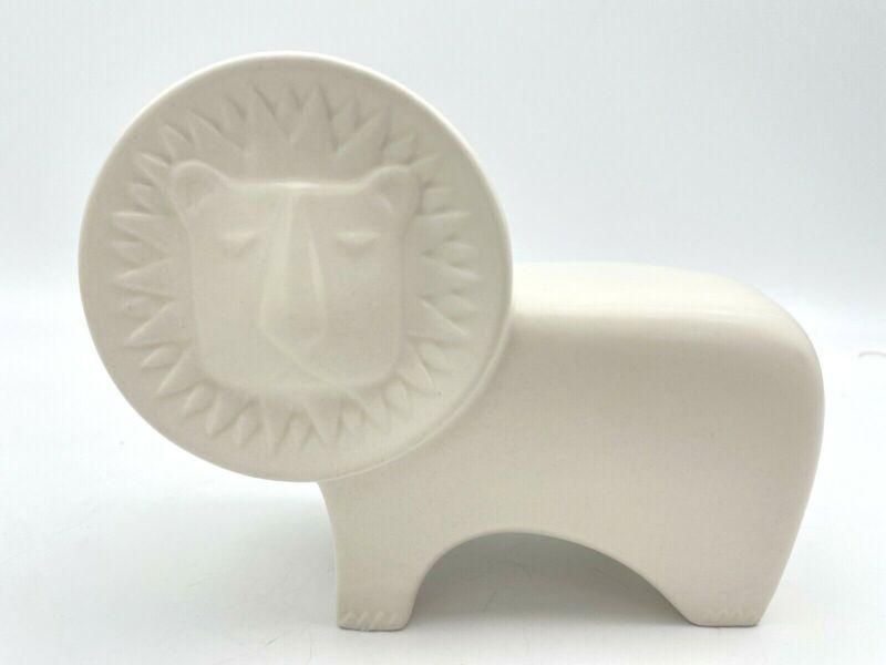 Jonathan Adler for PartyLite Lion Figurine Tea Light Candle  Succulent Holder